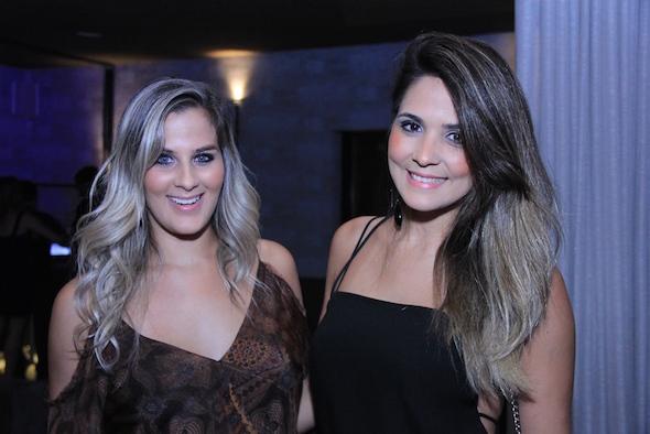 Talita Queiroz e Luana Borges Créditos: Luiz Fabiano/Divulgação