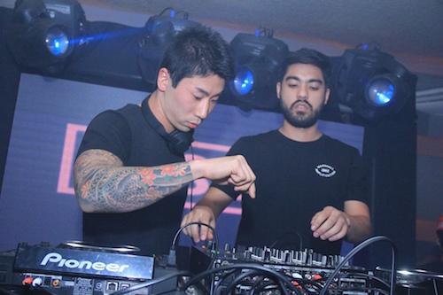 O duo The Juns foi a grande atração da noite Créditos: Luiz Fabiano/Divulgação