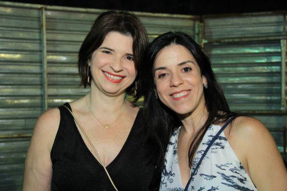 Ana Paula Carreras e Cacau Acioli. Crédito: Luiz Fabiano/Divulgação