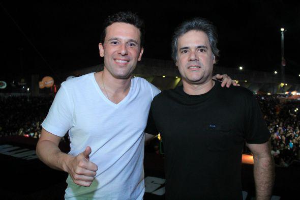 Augusto Acioli e Silvio Pontual. Crédito: Luiz Fabiano/Divulgação