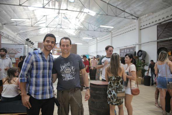 Os sócios Eduardo Farias e Thome Calmon. Crédito: Momentos Fotografia/Divulgação