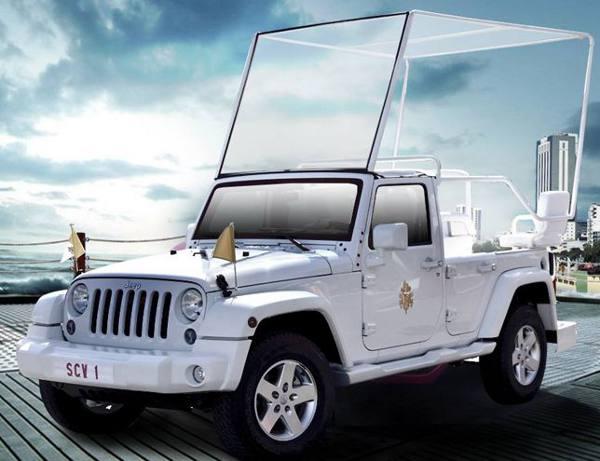O Jeep Papa Móvel/Divulgação
