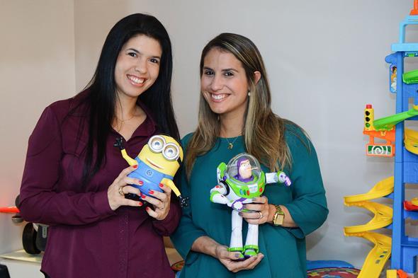 Amanda Lomaque e Vidiane Pinheiro  Créditos: Breno Pessoa/Divulgação