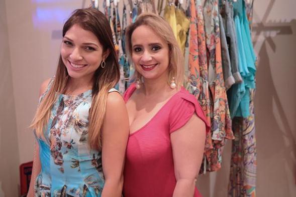 Amélia Rocha e Marcela Sotero. Crédito: Leo Lima
