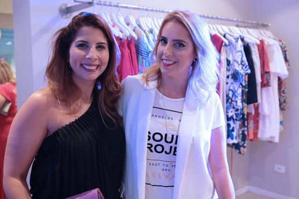 Danielle Oliveira e Patrícia Henriques. Crédito: Leo Lima