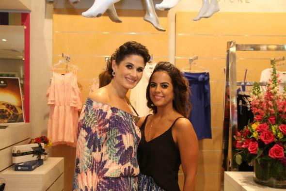 Gabriela Queiroz Galvão e Manuela Tenório. Crédito: Tatiana Sotero / DP / D.A Press