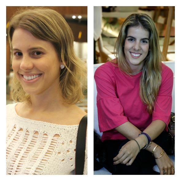 Eduarda Dubeux e Victoria Pinteiro aceitaram a missão em prol da campanha Outubro Rosa - Créditos: Nando Chiappetta/DP/D.A Press e Gleyson Ramos/Divulgação