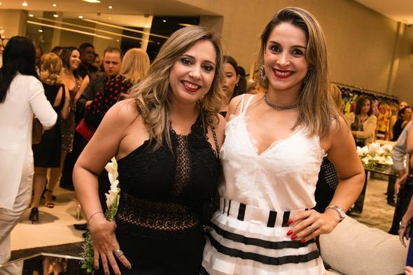 Sydia Amaral e Erica Penna - Crédito: Tatiana Sotero/DP/D.A Press