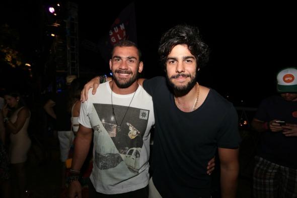 Bruno Novaes e Jose Pinteiro - Crédito: Peu Hatz/Divulgação