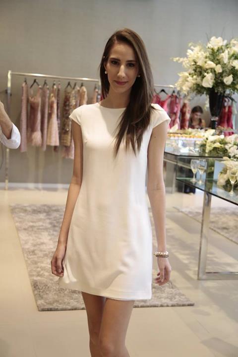 Branco total foi uma das tendências apresentadas no catwalk. Crédito: Gleyson Ramos/Divulgação