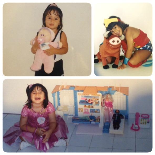 Os brinquedos preferidos da infância de Maria Cândida de Paula - Crédito: Arquivo pessoal