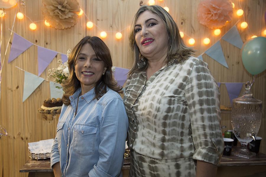 Lina Salviano e Verônica Luna - Crédito: Tatiana Valença/Divulgação