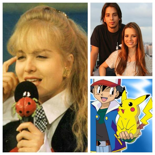 Músicas de Angélica, Sandy e Junior e a abertura do desenho animado Pokemon marcaram a infância de Can De Paula - Créditos: Reprodução da internet