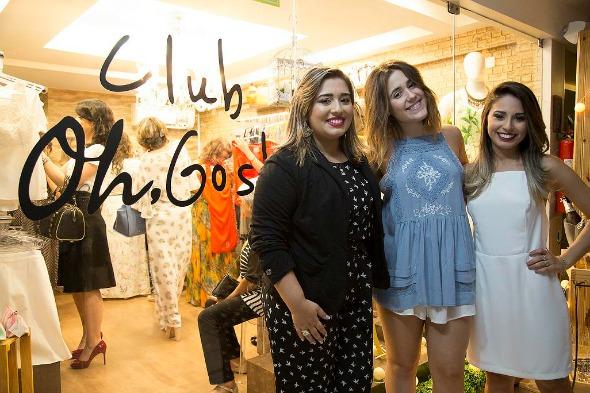 Thais Luna, Maria Eduarda Macedo e Nathalia Luna - Crédito: Tatiana Valença/Divulgação