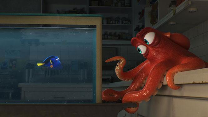 Procurando Dory será lançado em 2016 - Crédito: Divulgação/Disney