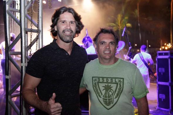 André Gimk e Carlito Asfora. Crédito: Vito Sormany / Divulgação