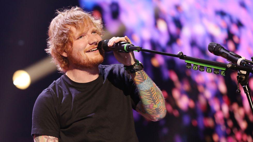 Ed Sheeran. Crédito: Alexander Tamargo/Divulgação