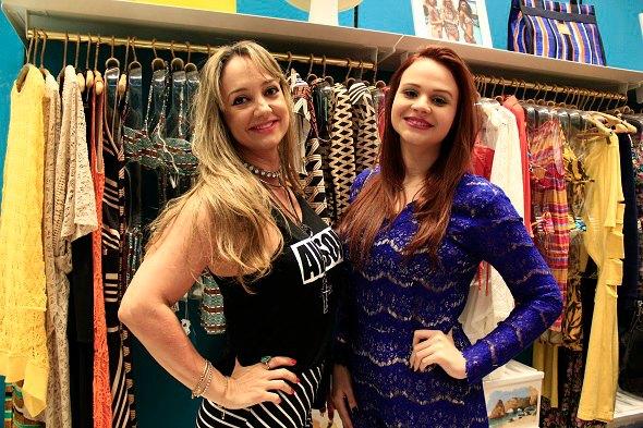 Renata Braga e Debora Heraclio -  Crédito: Raquel Melo/Divulgação