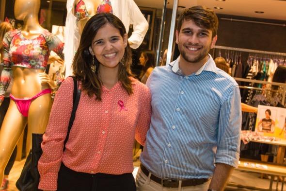 Livia e Felipe Freitas - Crédito: Tatiana Sotero/DP/D.A Press