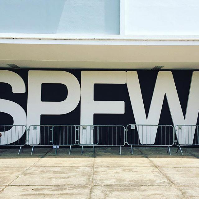 Tudo pronto para começar o SPFW -  Crédito: Reprodução do Instagram