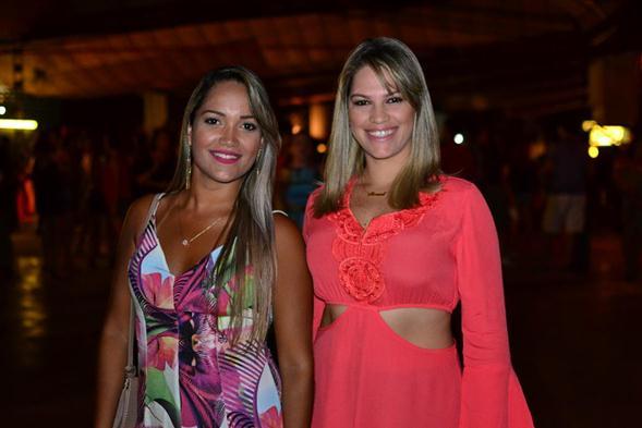 Bruna Lima e Ceça Oliveira. Crédito: Larissa Nunes / Divulgação