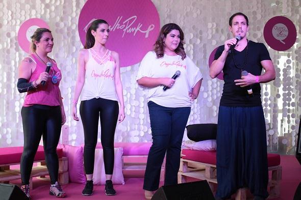 Cau Saad, Camila, Fabiana e Rodrigo Dupra. Crédito: Paloma Amorim / Divulgação
