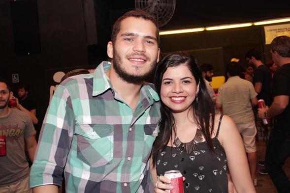Fernando Sposito e Juliana de Paula. Crédito: Larissa Nunes / Divulgação