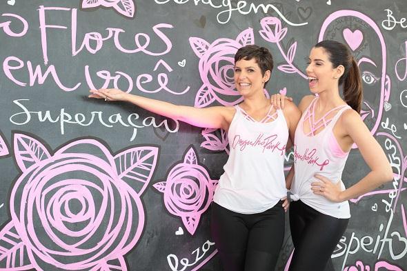 Flávia Flores e Camila Coutinho. Crédito: Paloma Amorim / Divulgação