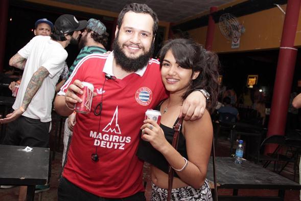 Marcelo Soda e Julyane Tenório. Crédito: Larissa Nunes / Divulgação