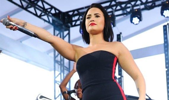 Demi Lovato fez show para 400 convidados no Terraço JK Iguatemi - Crédito: Reprodução/VEVO