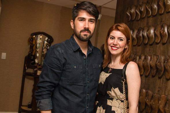Mauro Bello e Raphaela Moscoso. Crédito: Tatiana Sotero / DP / D.A Press