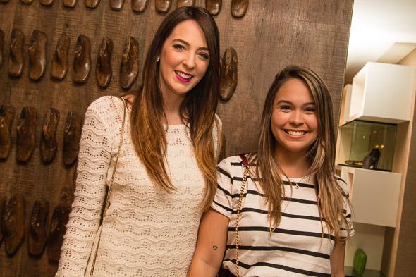 Camila Moraes Rego e Rebeca Jordão. Crédito: Tatiana Sotero / DP / D.A Press