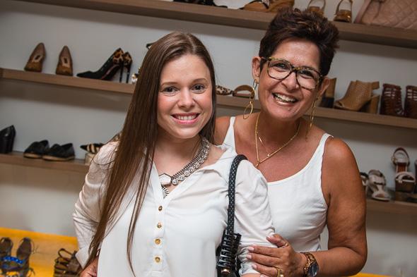 Mariana Parini e Tatiana Marques. Crédito: Tatiana Sotero / DP / D.A Press