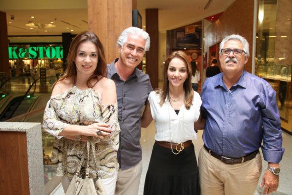Patrícia, Romero Duarte, Cris Lemos e Afonso Farias. Crédito: Bruna Oliveira/Divulgação
