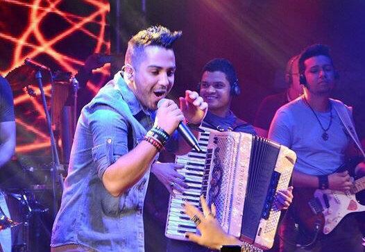 A estreia do cantor de 20 anos foi no Villarena, em setembro, com recorde de público. Foto: Raphael Acioli/Divulgação