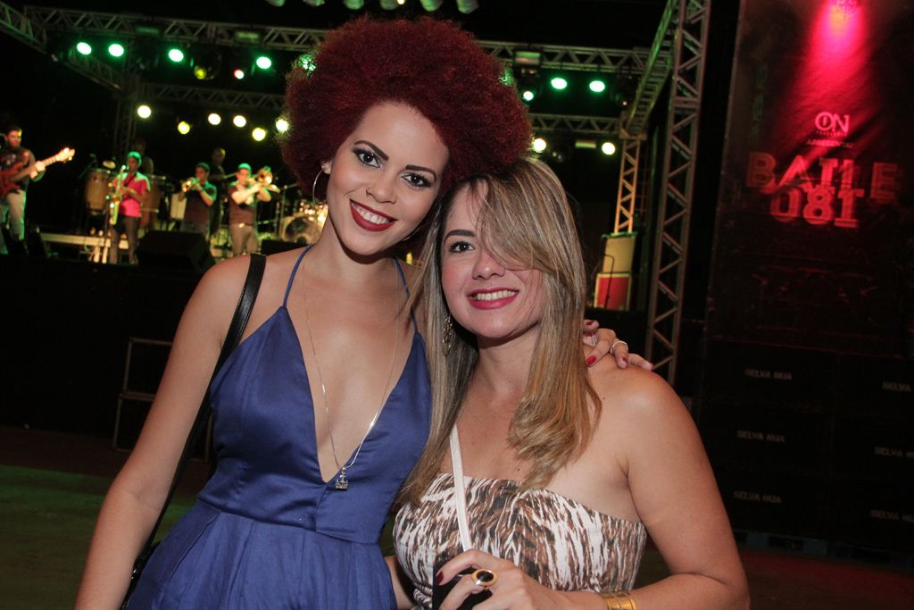 Audrey Duarte e Leane Silva Créditos: Larissa Nunes/Divulgação