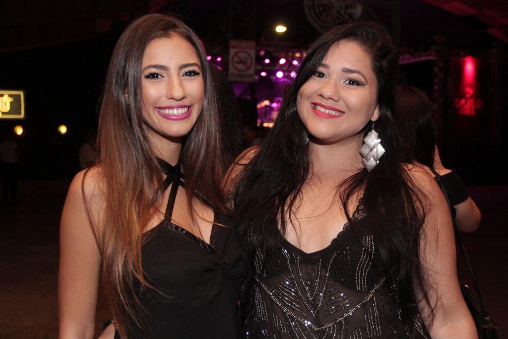 Bruna Duarte e Ana Paula  Créditos: Larissa Nunes/Divulgação