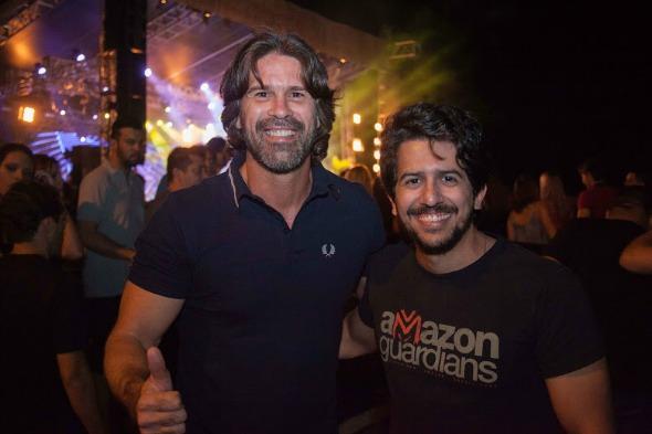 André Gimk e Aníbal Pinteiro. Crédito: Vito Sormany/Divulgação