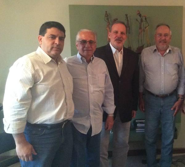 Cicero Moraes, José Chaves, Armando Monteiro Neto e José Humberto/Divulgação