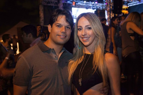 Eduardo Trajano e Anna Sarah. Crédito: Vito Sormany/Divulgação