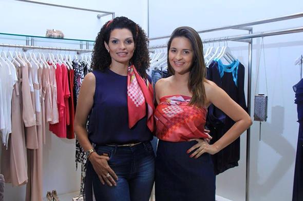 Danielle Stefanello e Rebeka Guerra  Créditos: Luiz Fabiano/Divulgação