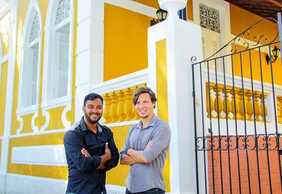 Francisco Andrade e Valter Mesquita Créditos: divulgação/AME Fotografia