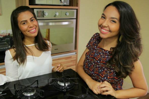 Mariana Domicio e Milenna Gomes. Crédito: Divulgação/Empório Funcional