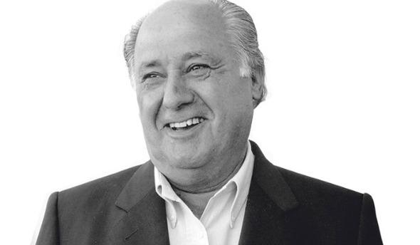 Amancio Ortega. Crédito: Reprodução/blogazine.com.br