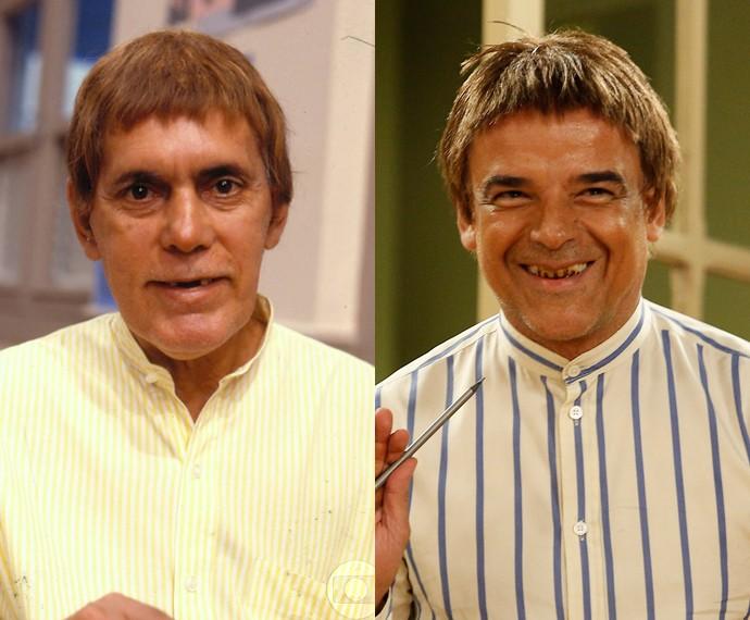 Antônio Carlos Pires e Ângelo Antônio como Joselino Barbacena Créditos: GShow/Divulgação