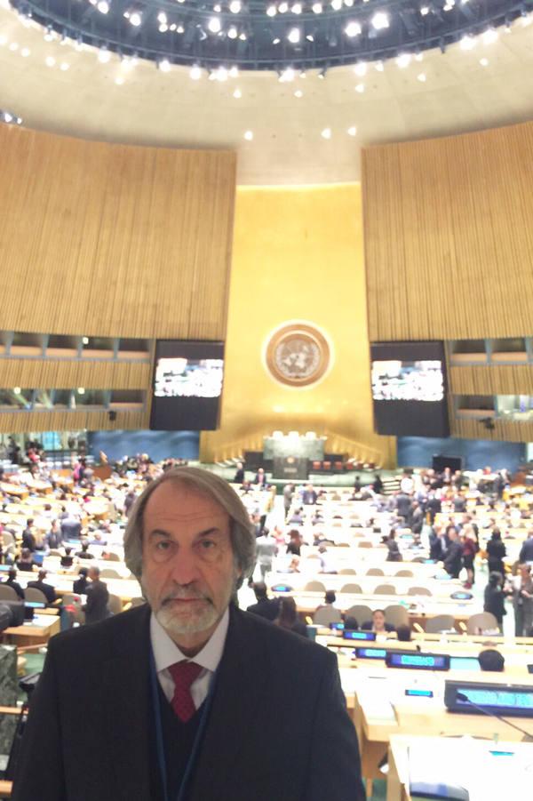 Cadoca na ONU/Divulgação