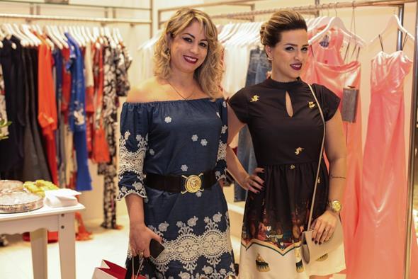 Ana Karla e Anne Barros. Crédito: Paloma Amorim/Divulgação