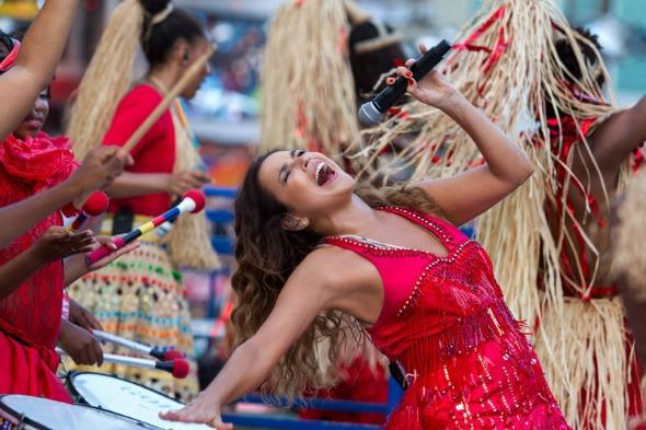 Daniela Mercury Crédito: Celia Santos/Divulgação