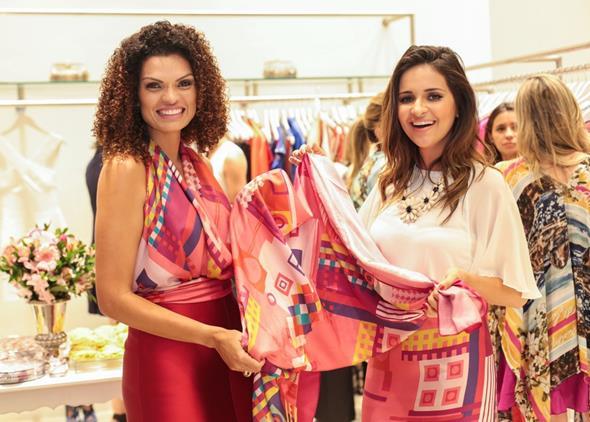 Danielle Steffanello e Rebeka Guerra. Crédito: Paloma Amorim/Divulgação