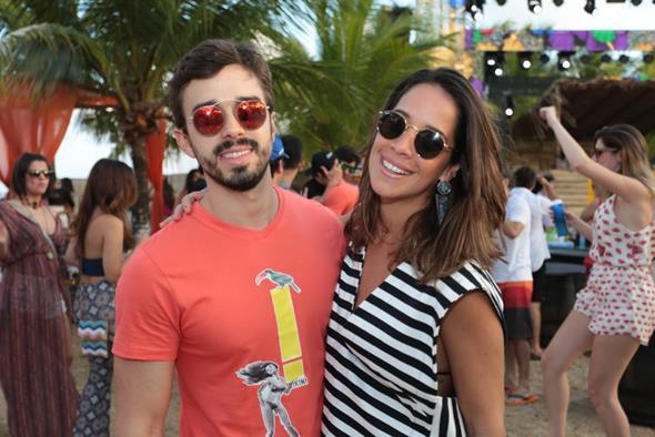Rafael Lobo e Renata Barroca Créditos: Peu Hatz/Divulgação